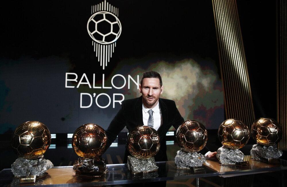 Lionel Messist sai esimene kuuekordne Ballon d'Or'i võitja