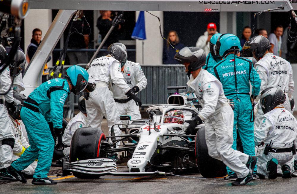 VIDEO | Mercedes selgitas Hamiltoni bennyhilliliku boksipeatuse tagamaid