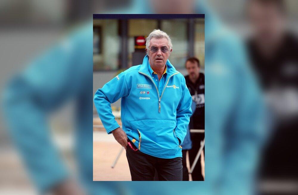 Flavio Briatore Austraalia GP-l