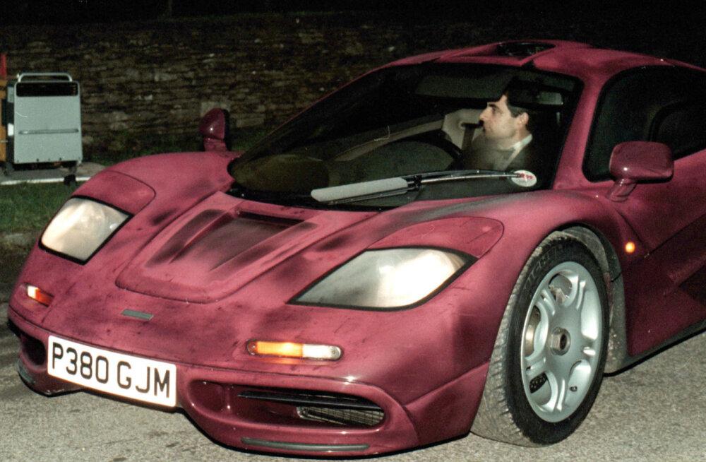 Rowan Atkinson McLaren F1 sportautos