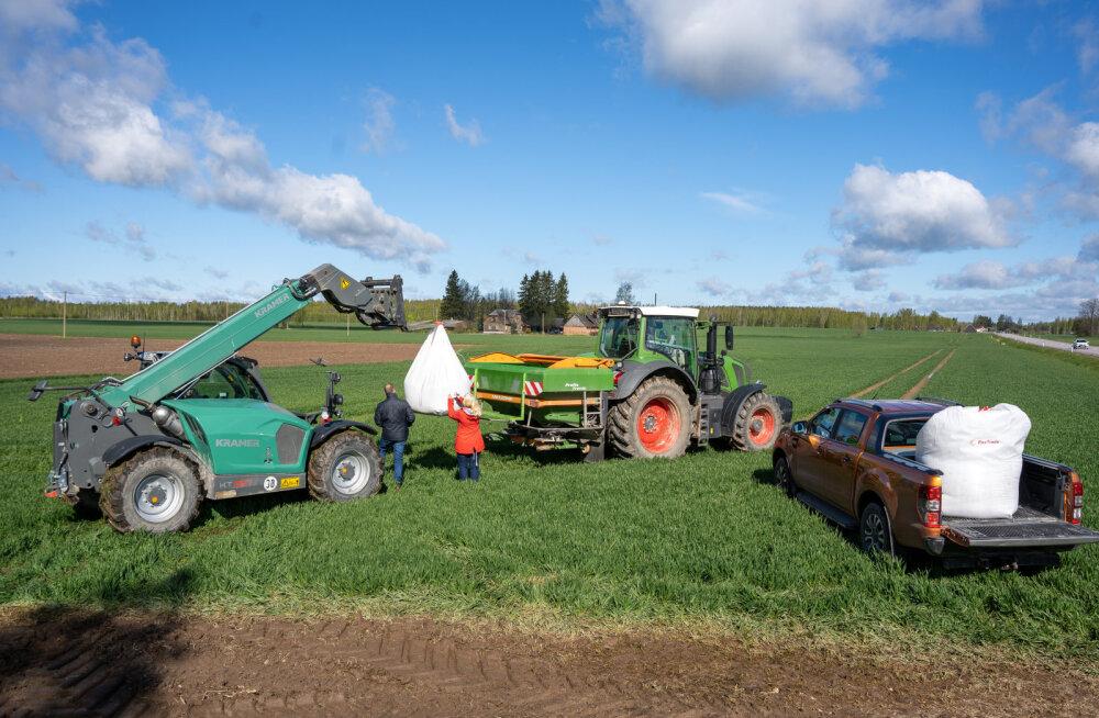 В Эстонии начали использовать как удобрение гранулированную сланцевую золу