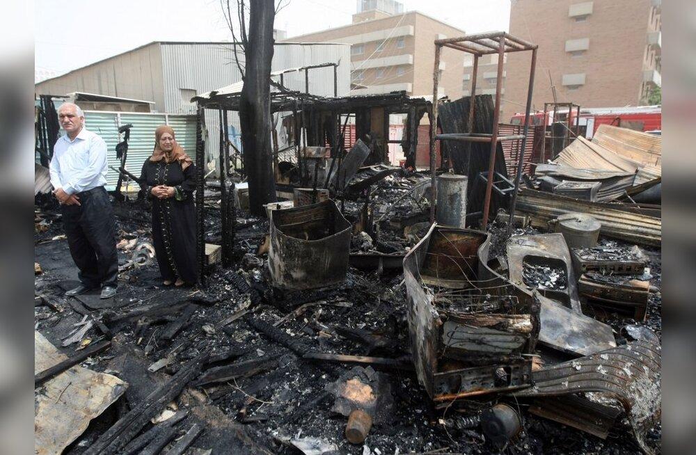 Iraagis Taji linnas hukkus plahvatustes 35 inimest
