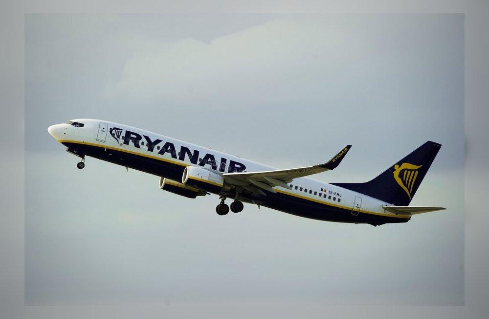 Turbulentsi sattunud Ryanairi lennukis sai kolm inimest viga