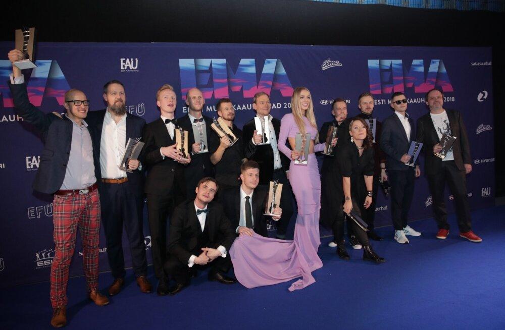 Võimsad nimed! Eesti Muusikaauhinnad 2019 esinejate nimekiri sai lisa