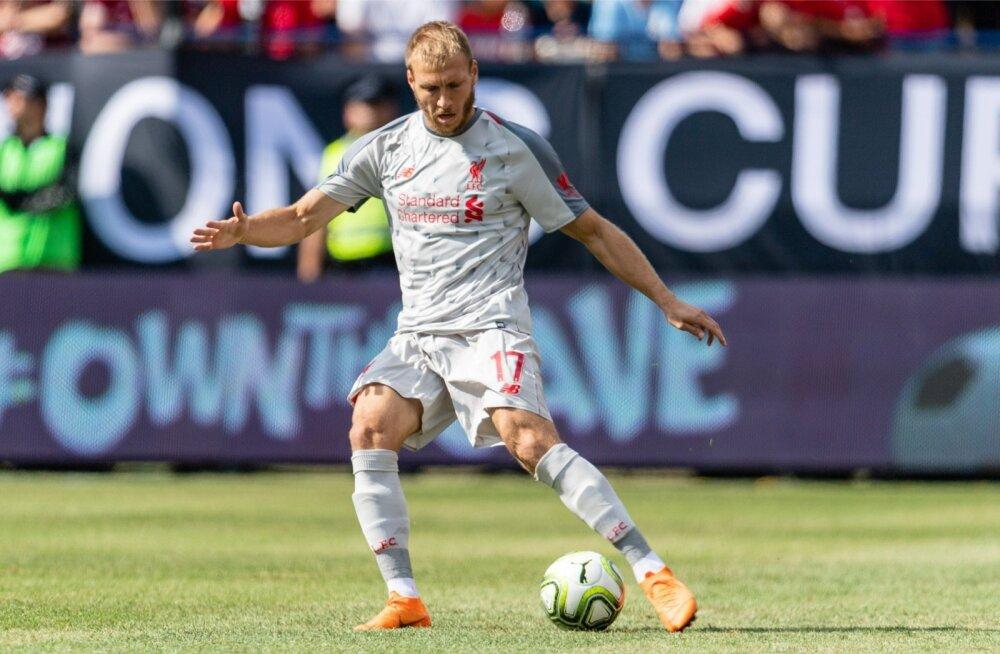 Ragnar Klavan siin veel FC Liverpooli särgis.