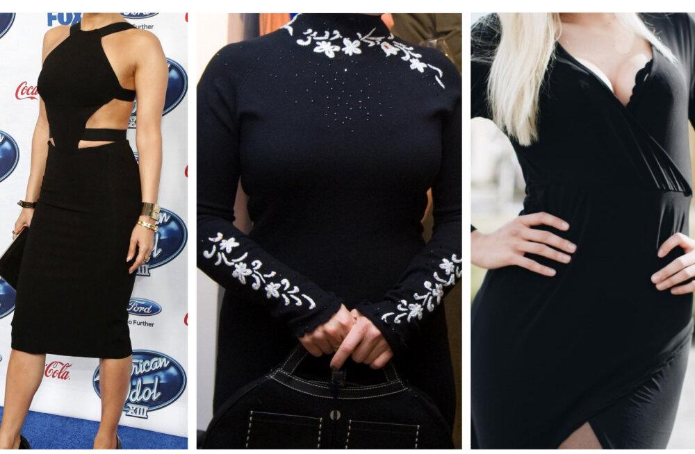 TEST: Kas arvad ära, kes on neiu mustas kleidis?