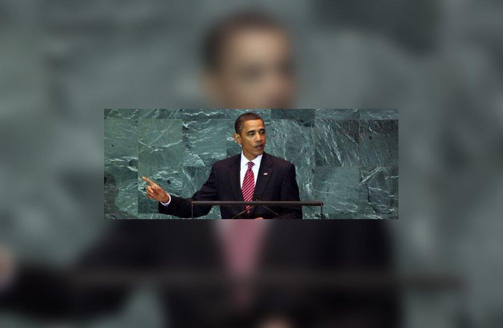 Obama ÜROs: ärge oodake, et USA kõik korda teeb
