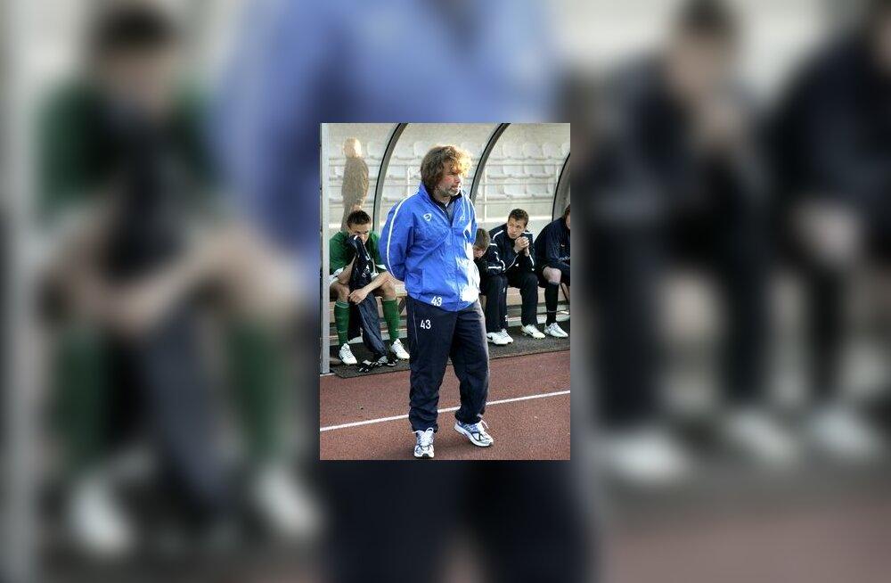 FC Flora peatreener Pasi Rautiainen