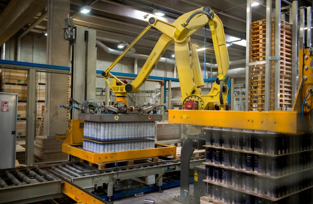 Tööstusettevõtted suurendasid tootmist