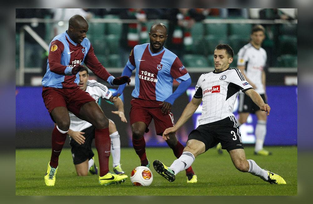 Legia vs Trabzonspor