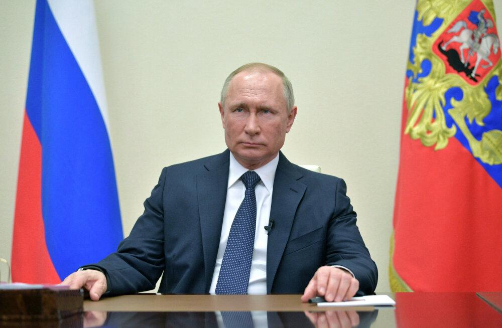 Putin pikendas töövaba nädala töövabaks kuuks