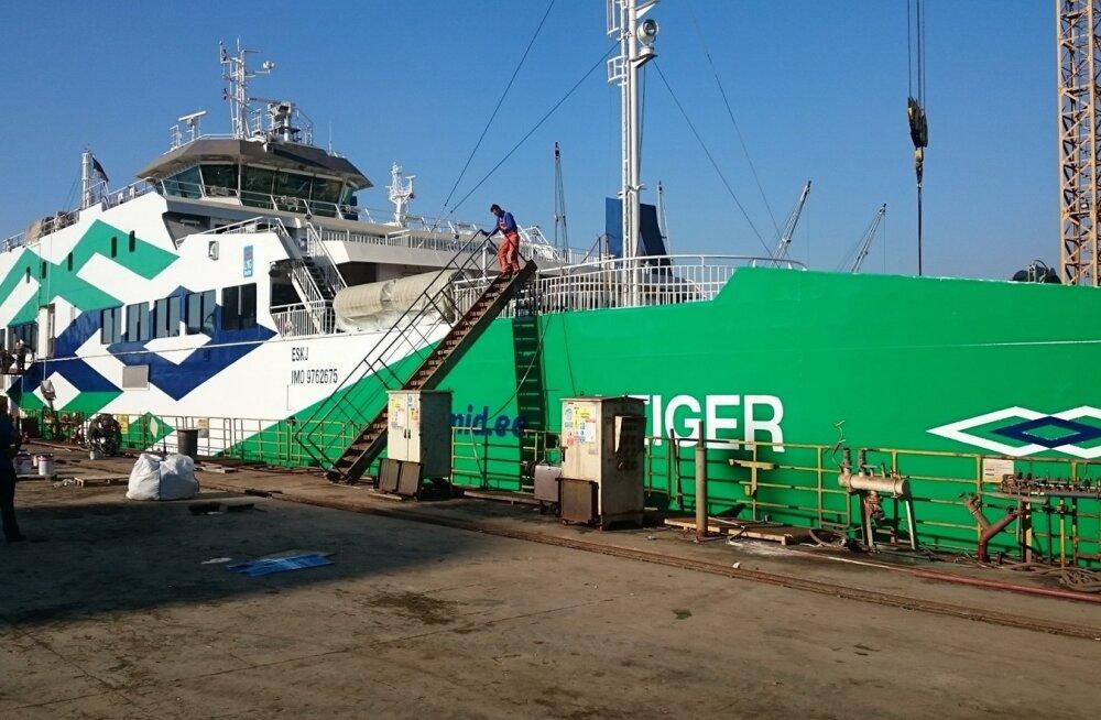 Täna algab Türgis Sefine tehasesesimese parvlaeva LeigerTS Laevadeleüleandmine, mis võib kesta umbes nädala.
