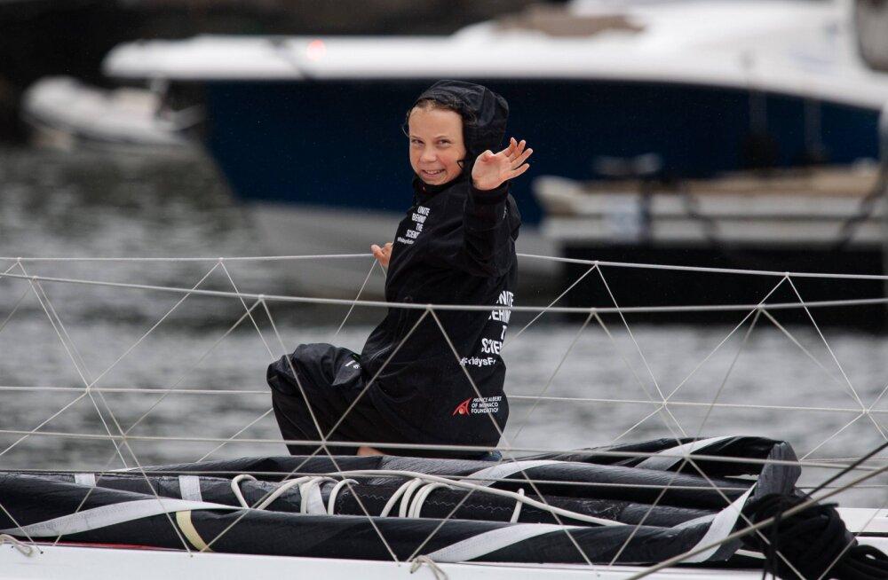 Hispaania lubas kliimaaktivist Thunbergi üle Atlandi aidata