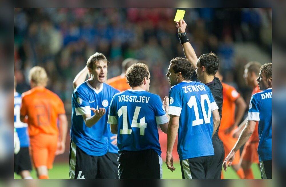 Eesti vs Holland jalgpalli lühiversioon