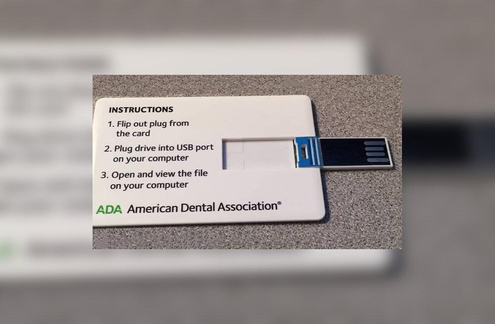 Veel üks põhjus hambaarsti karta: pahavaraga mälupulk!