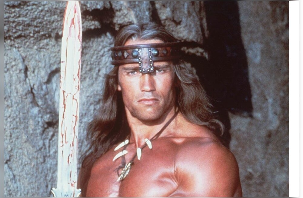 SCHWARZENEGGER , Conan The Barbarian