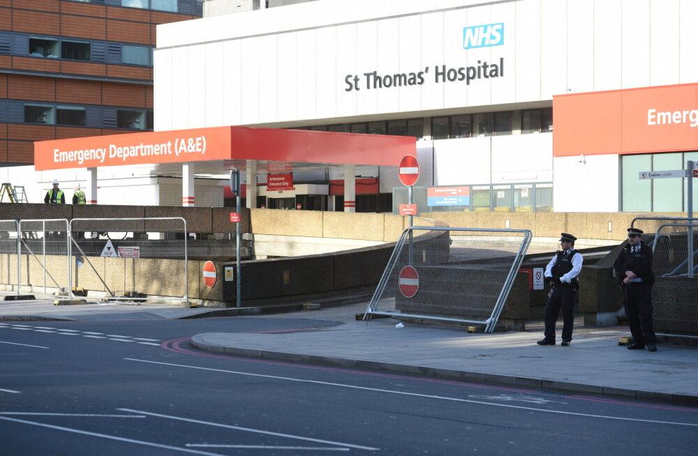 Briti minister: Johnson on saanud intensiivravil olles hapnikku, aga ei ole hingamisaparaadi all