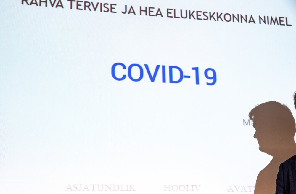 Terviseameti COVID-19 pressikonverents