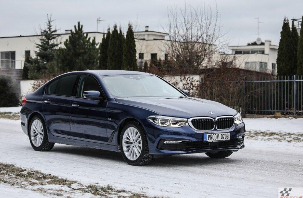 Pilk peale, käsi külge: BMW tuttuus viies seeria ehk viis on uus seitse
