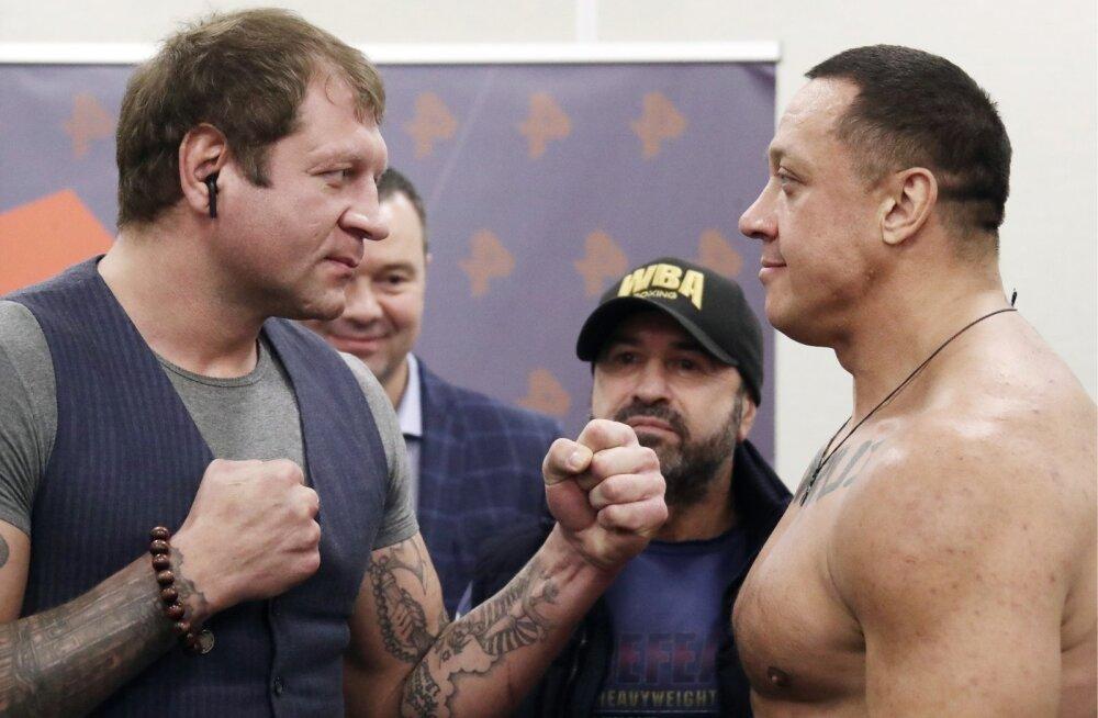 Alexander Emelianenko vs Mikhail Koklyaev