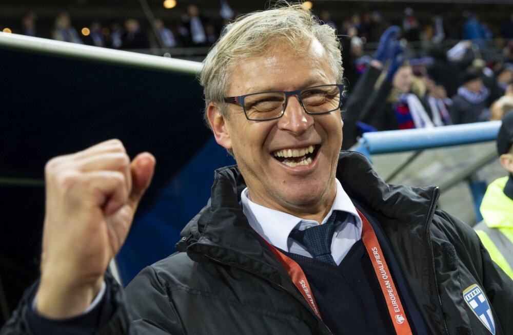 Soome jalgpallikoondis sai hea uudise, peatreener seadis ambitsioonika eesmärgi