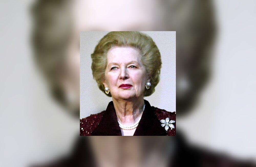 Margaret Thatcher Briti konservatiivne peaminister