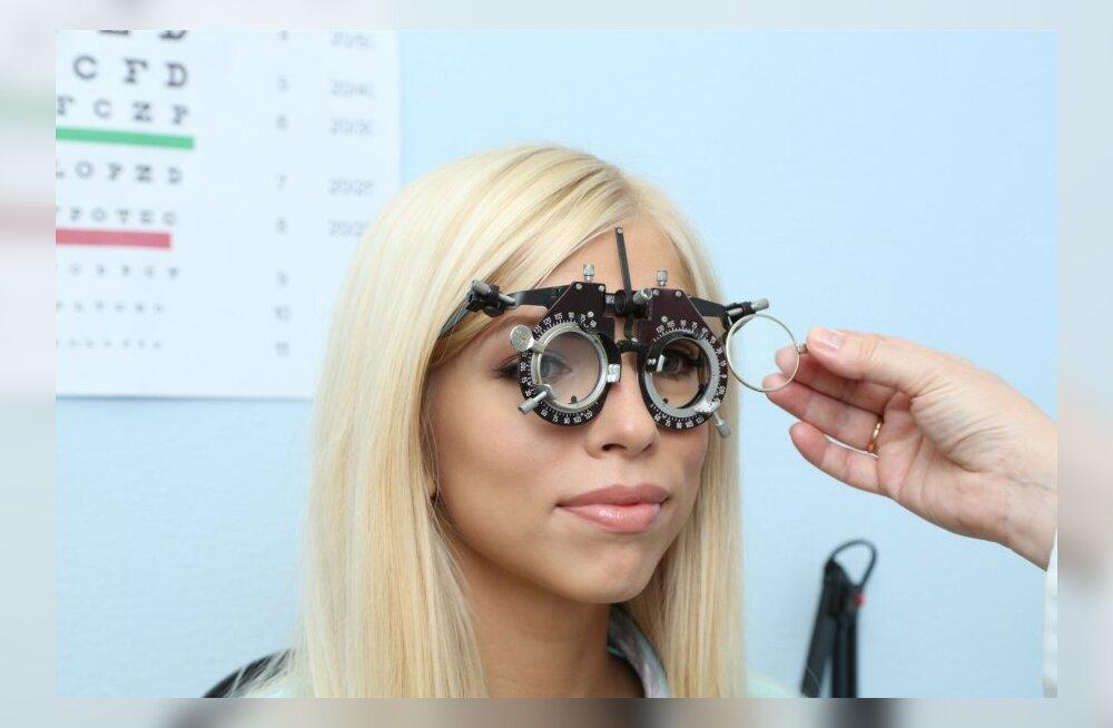 Silmi ja nägemist kontrollib silmaarsti asemel optometrist