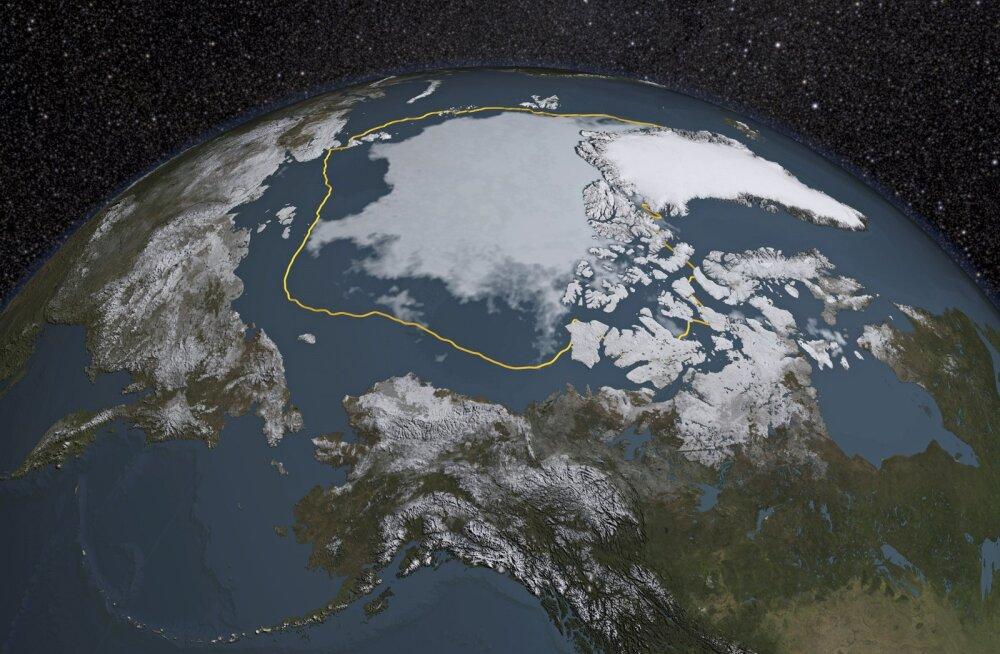 Surnud ring: Arktika sulamine avab tee laevadele, laevaliiklus sulatab jälle Arktikat