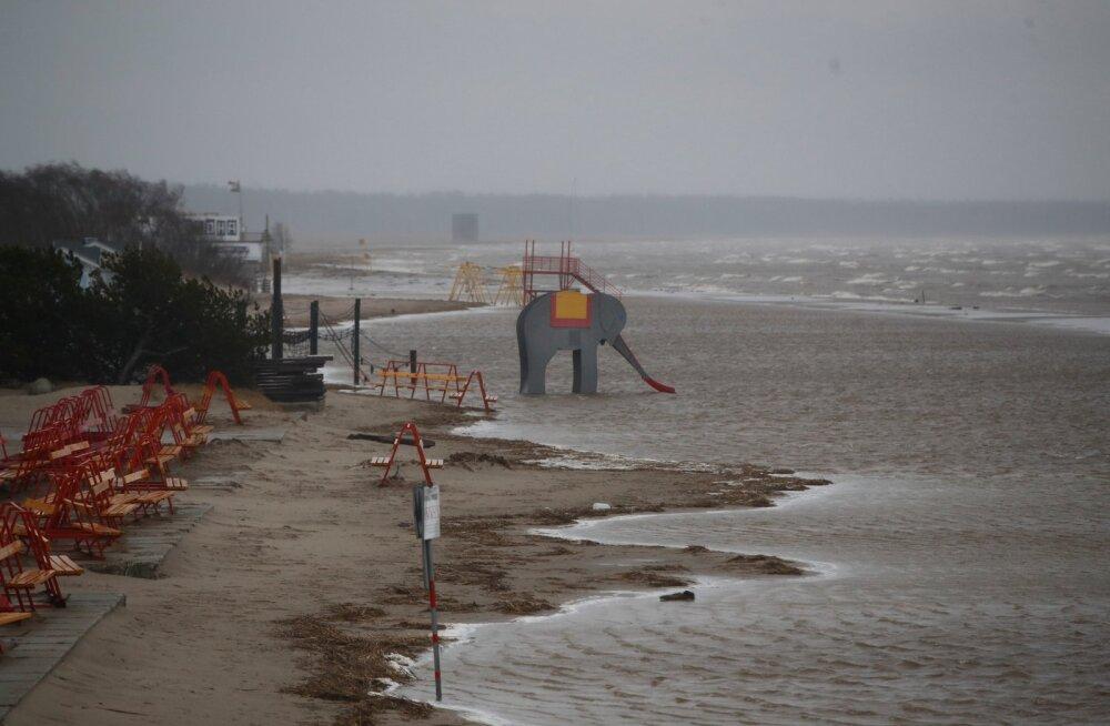Järjekordne torm on teel: nädalavahetusel võib tuul taas väga tugevaks paisuda