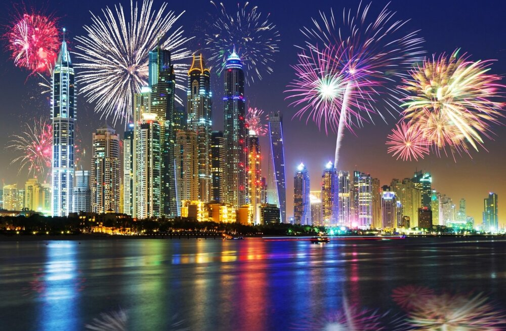 Дубай в объективе: место, где миллионеры развлекаются