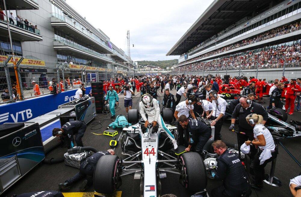 Kuidas muuta Venemaa GP võidusõit põnevamaks? Lewis Hamilton tegi huvitava ettepaneku, kuidas Sotši ringrada muuta
