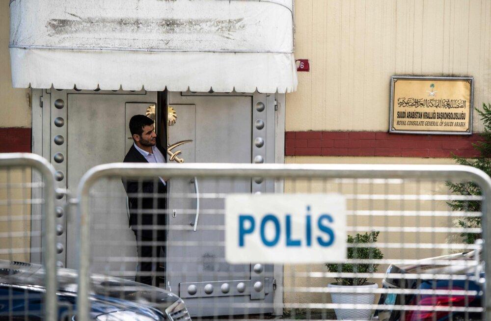 USA ajalehe ajakirjanik mõrvati türklaste väitel saudide poolt