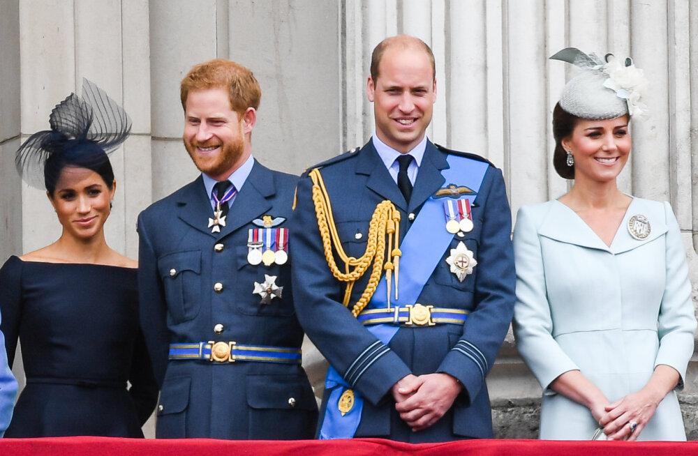 Kuninglik tüli kogub hoogu: selgub, et omavahel on raksus ka printsid Harry ja William
