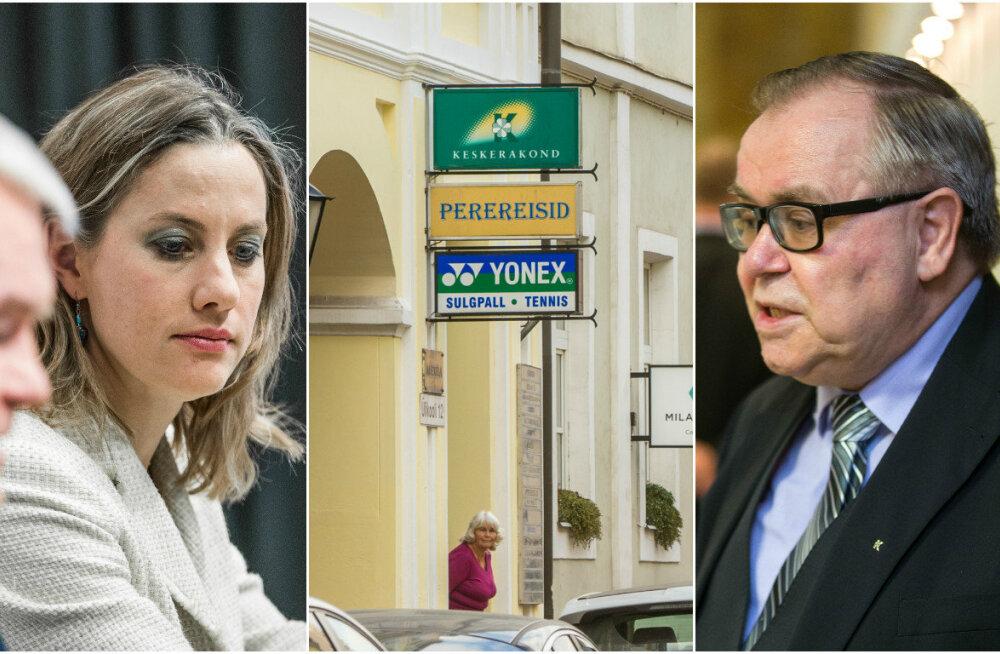 Keskerakonna Tartu kontoris käinud varga otsingutel vaadatakse riigikogu liikme Oudekki Loone poole