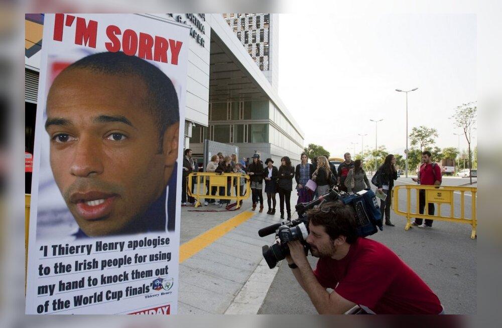 Thierry Henry avalik vabandus