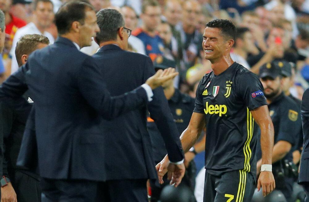 Ronaldo sai punase kaardi