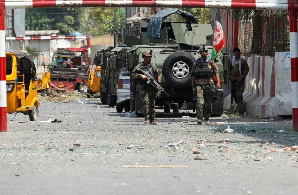 Islamiriik võttis omaks rünnaku Afganistani vanglale, milles hukkus vähemalt 29 inimest