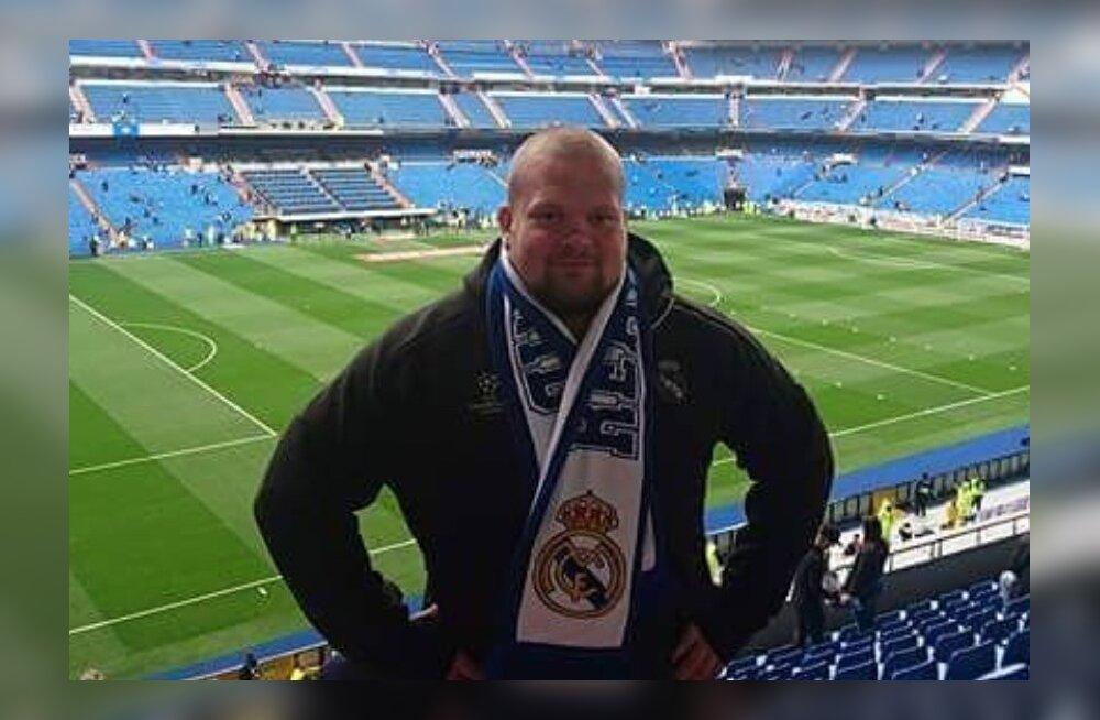 Mart Seim Madridi Reali koduareenil.