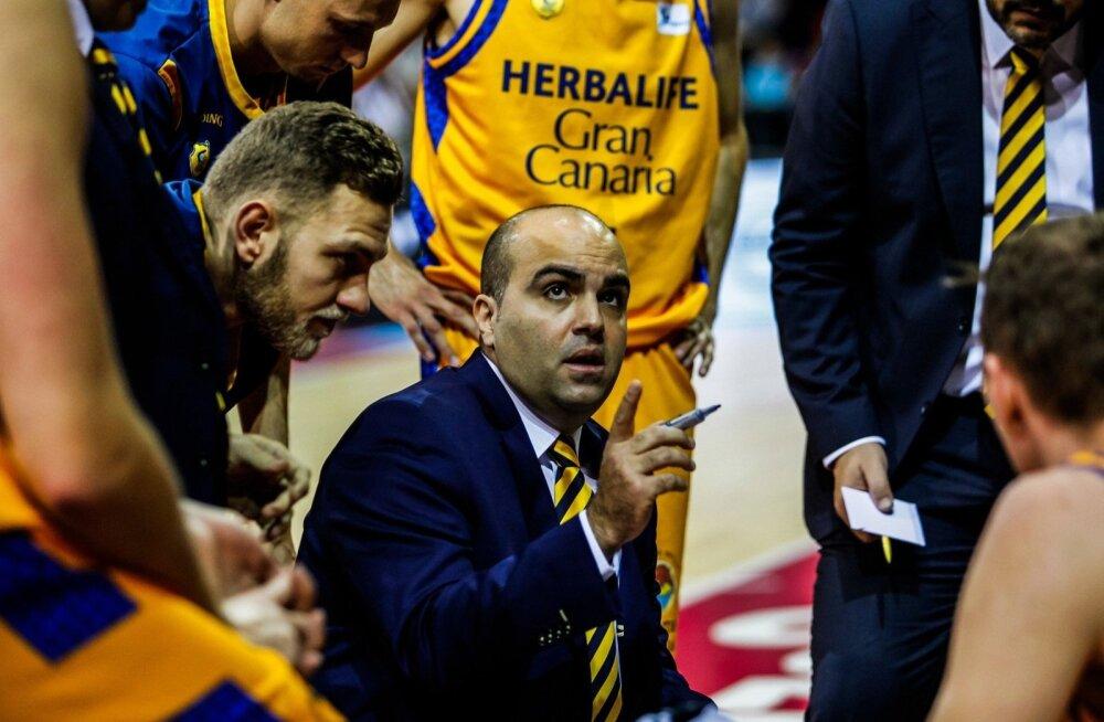 Gran Canaria meeskond minutilisel mõttepausil