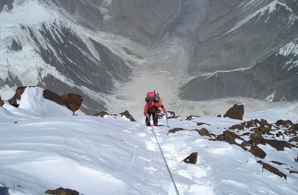 Eesti alpinistid ronisid seitsme kilomeetri kõrgusele