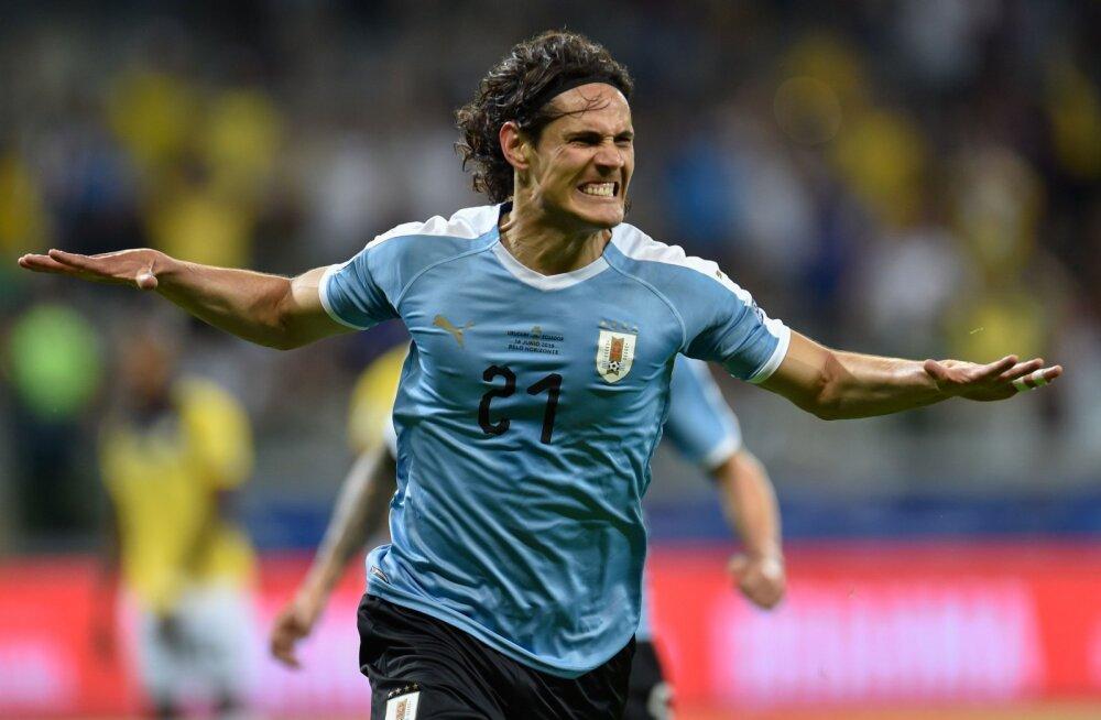 VIDEO | Uruguay alustas Copa Americat võiduga, Cavanilt iluvärav