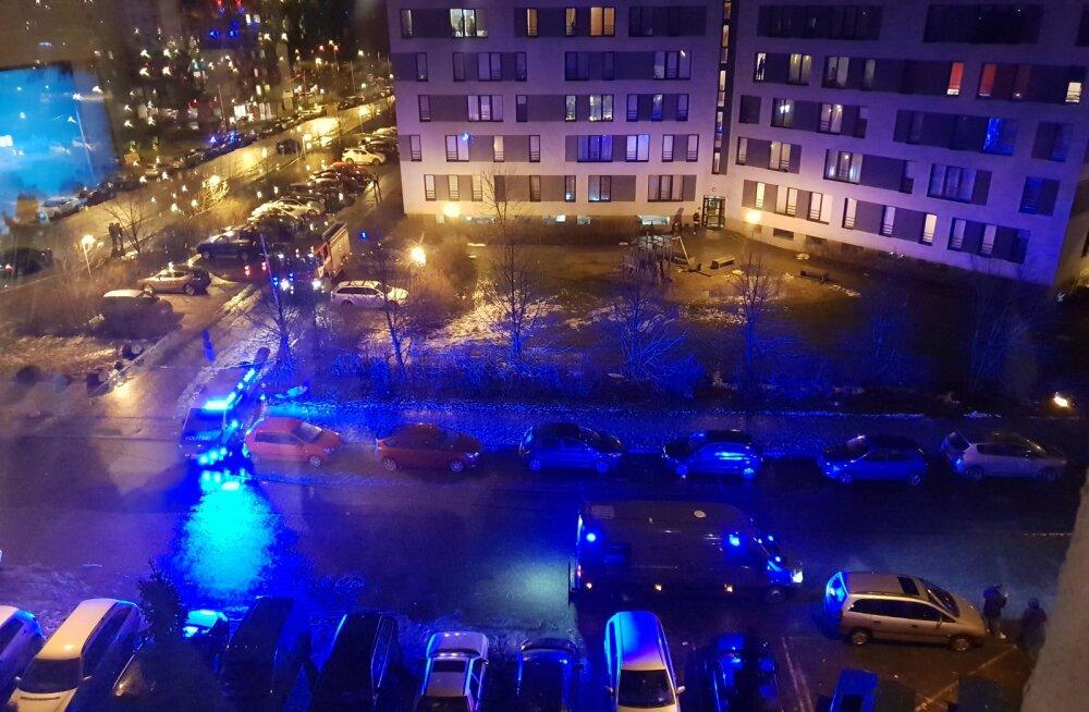 Päästeameti demineerijad leidsid Tallinnas Lasnamäelt reisikohvrist prügi