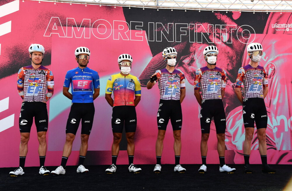 """Kangerti tiim kutsus üles Giro d'Italiat varem lõpetama, sest """"mull"""" on lõhkemas"""