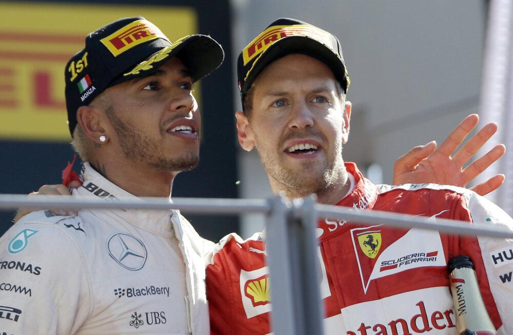 Horner: Hamilton ja Vettel ei hakka kunagi ühes tiimis sõitma