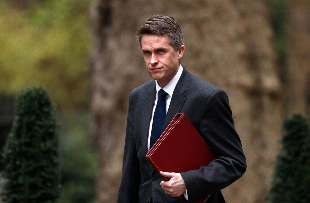 Lekke pärast julgeolekunõukogu istungilt vallandati Suurbritannia kaitseminister Williamson