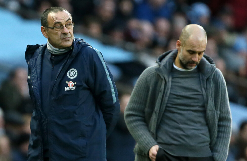 Chelsea peatreener: Guardiolal vedas, et Manchester City talle aega andis