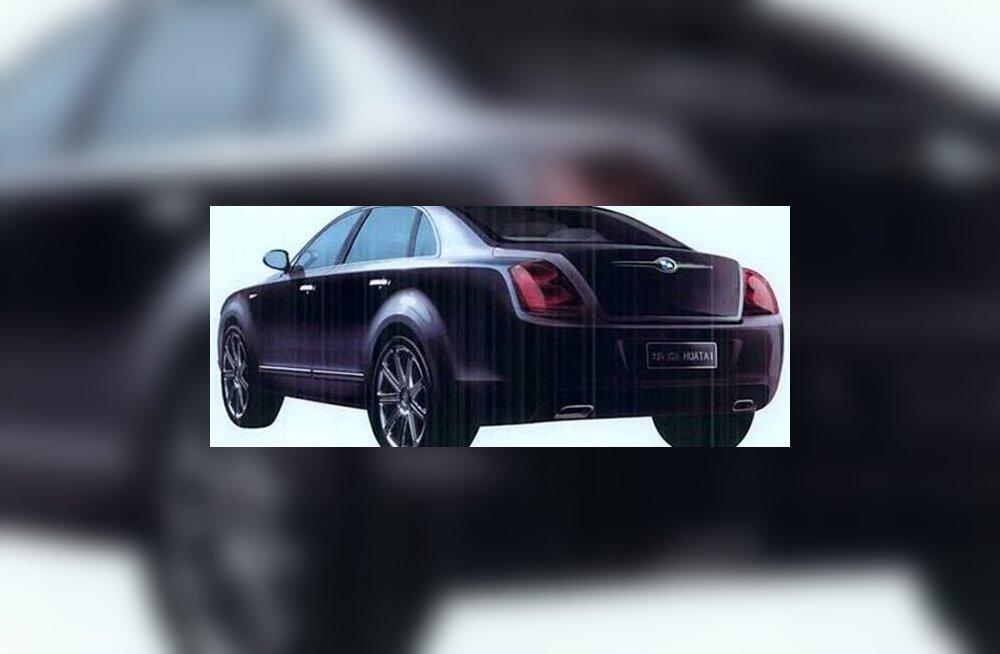 Huatai moodustis Bentley Continental Flying Spuri vaimus