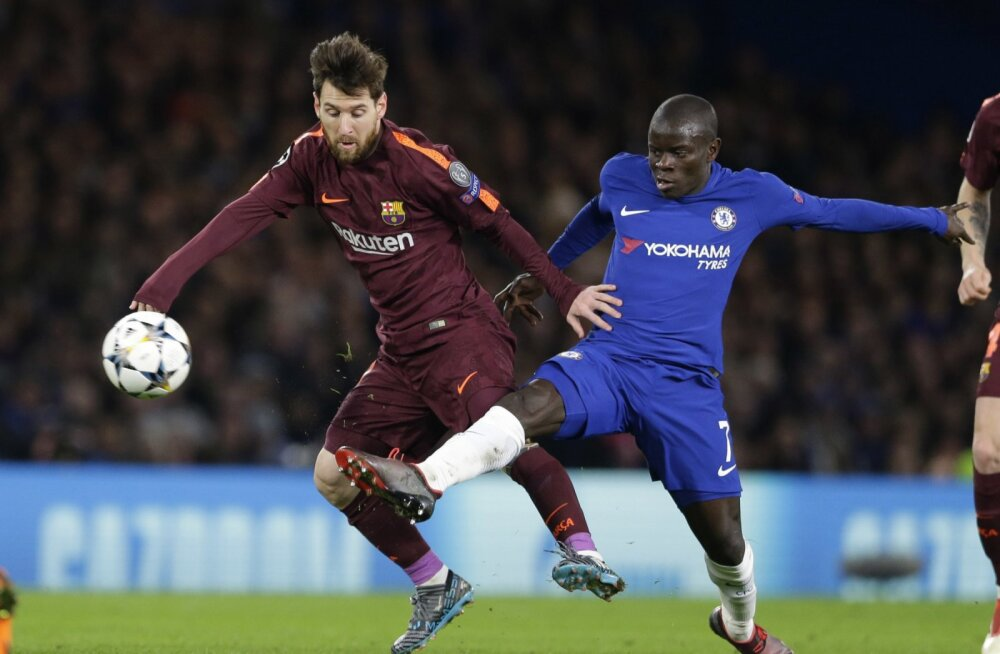 Lionel Messi ja N'Golo Kante