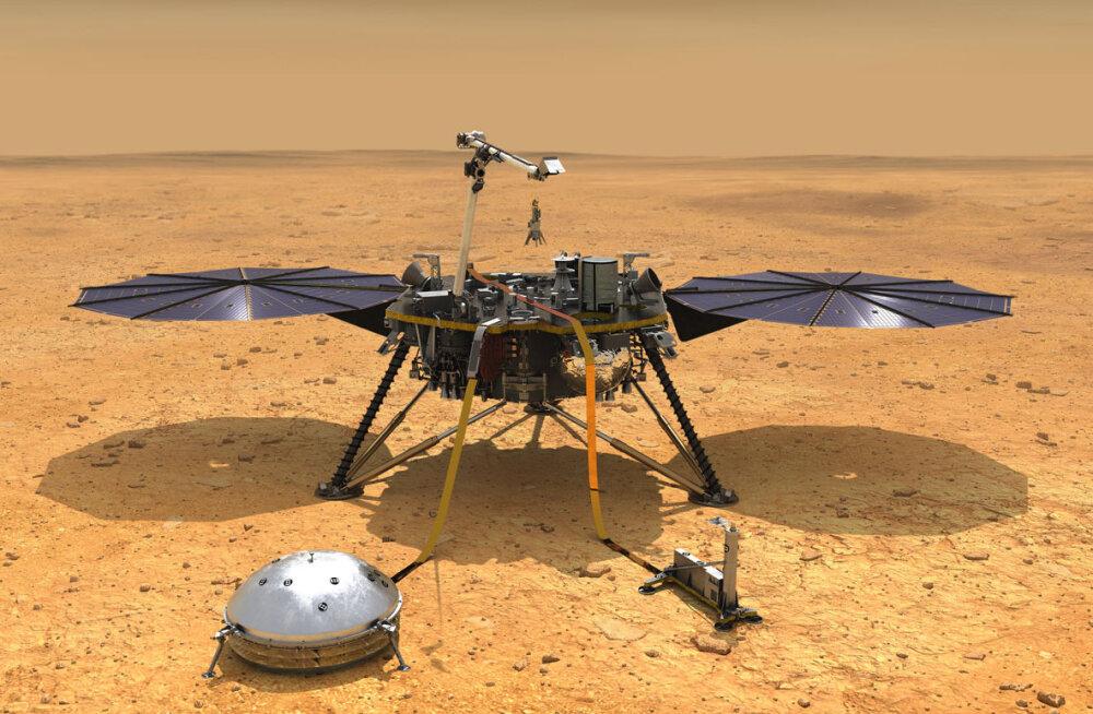 NASA avastas Marsilt mõistatuslikud öösel ilmnevad magnetimpulsid