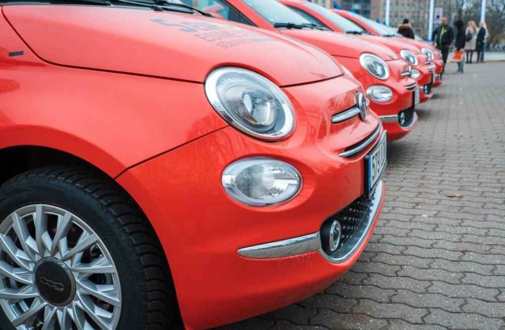 Fiati müük kasvas Eestis 6800 protsenti